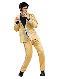 Gold Suit Elvis Costume