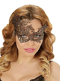 Golden lace mask antique