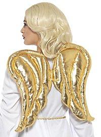 Golden shining wings