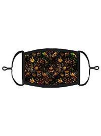 Goldener Herbst Mund-Nasen-Maske
