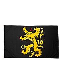 Goldener Löwe Flagge