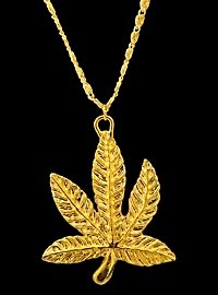Goldenes Hanf Medaillon
