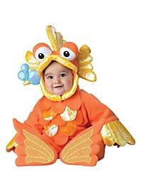 Goldiger Goldfisch Babykostüm