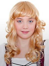 Goldmarie Kinderperücke