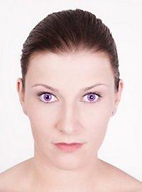Lila Kontaktlinsen Gothic