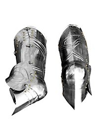 Gothic Plate Greaves steel