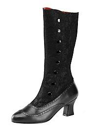 Gothic Stiefel schwarz