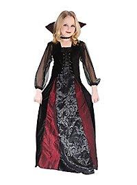 Gothic Vampirin Kinderkostüm