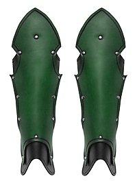 Beinschienen - Wache grün
