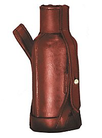 Gourde d'ambiance avec sacoche de ceinture rouge