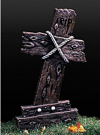 Grabkreuz RIP Holzoptik