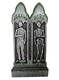 Grabstein Jekyll & Hyde Halloween Deko