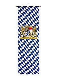 Grand drapeau État libre de Bavière