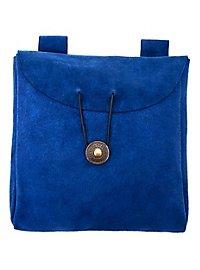 Grande sacoche de ceinture bleue