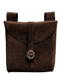 Grande sacoche de ceinture - Paysan (marron foncé)