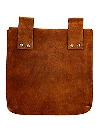 Grande sacoche de ceinture marron clair