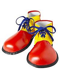 Grandes chaussures de clown
