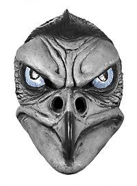 Grauer Adler  Maske aus Latex