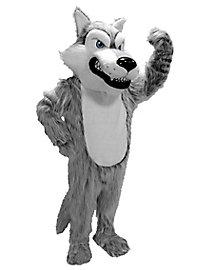 Grauer Wolf Maskottchen
