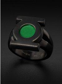 Green Lantern Emblem Ring black