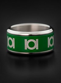 Green Lantern - Emblem Ring rotierend grün