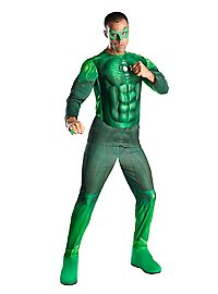Green Lantern with Light Effect Costume