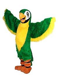 Green Parrot Mascot