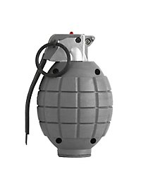 Grenade grise avec effet sonore