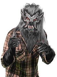 Grey werewolf costume set