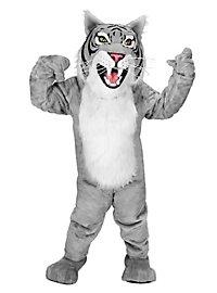 Grey Wildcat Mascot