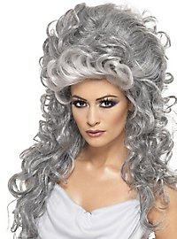 Griechische Göttin Perücke grau