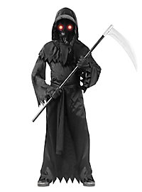 Grim Reaper Child Costume with Luminous Effect