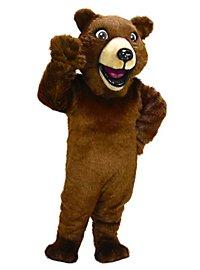 Grizzly joyeux Mascotte