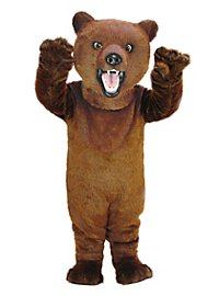 Grizzly sauvage Mascotte