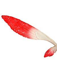 Große Feenflügel rot
