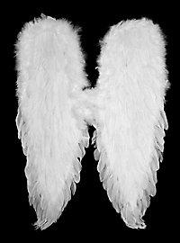 Große weiße Flügel Federn