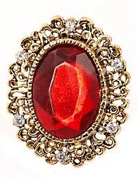Großer Rubin Ring