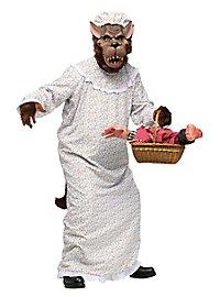 Großmutter Wolf Kostüm
