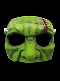 Grünes Monster Augenmaske