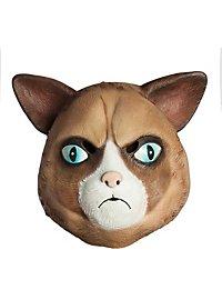 Grummelkatze Maske aus Latex