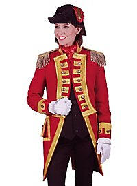 Guard uniform for ladies red