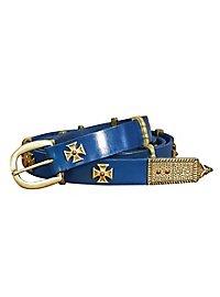 Rittergürtel - Sir Danved, blau