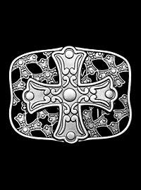 Gürtelschnalle Kreuz
