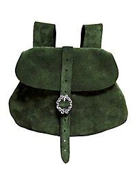 Gürteltasche aus Leder grün