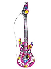 Guitare de hippie gonflable