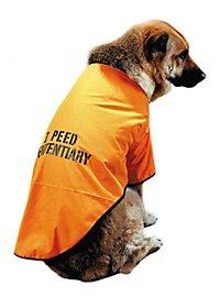 Häftling Hundekostüm