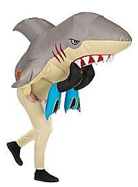 Hai-Alarm aufblasbares Kostüm