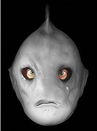 Haifischwesen Maske aus Schaumlatex