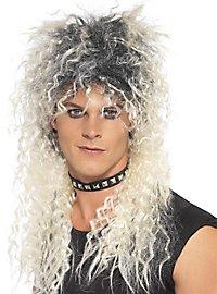 Hair Metal Perücke blond