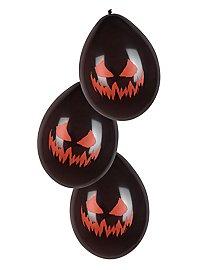 Halloween Balloons 6 pieces